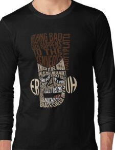 Catchphrase Comp-er-uh-lation Long Sleeve T-Shirt