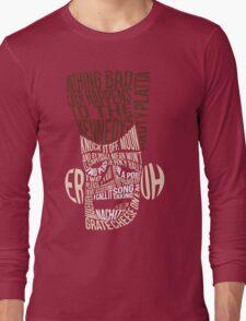 Catchphrase Comp-er-uh-lation Long Sleeve T-Shirt