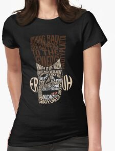 Catchphrase Comp-er-uh-lation Womens Fitted T-Shirt