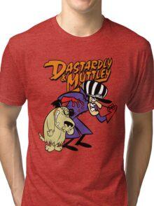 Dastardly & Muttley Tri-blend T-Shirt