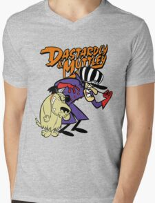 Dastardly & Muttley Mens V-Neck T-Shirt