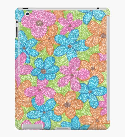 Multicolored Flowers and such iPad Case/Skin