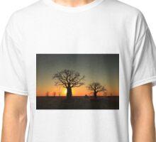 Sunset on the flats Classic T-Shirt