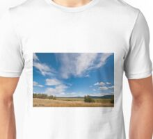 Clouds Over a Wildlife Refuge Unisex T-Shirt