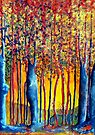 Poplars at daybreak by Elizabeth Kendall