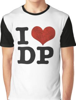 I heart DP on white Graphic T-Shirt