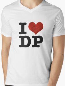 I heart DP on white Mens V-Neck T-Shirt
