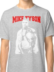 Mike Tyson With Trophy Classic T-Shirt
