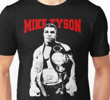 Mike Tyson With Trophy Unisex T-Shirt