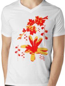 Wildflowers Mens V-Neck T-Shirt