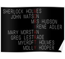 MORIARTY (Sherlock Characters) Poster