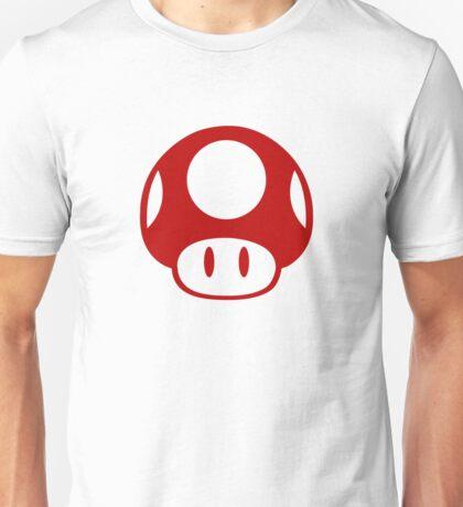 Super Mario Bros Mushroom Logo Unisex T-Shirt
