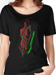 a tribe called quest, atcq, radio, funny, awesome, rap, hip hop, album, music, 90s, techno, trending, jazz Women's Relaxed Fit T-Shirt