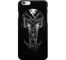 Magneto Face iPhone Case/Skin