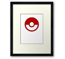 Pokemon Logo Framed Print