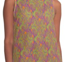 trippy picture Contrast Tank