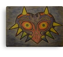 The legend of Zelda: Majoras mask Canvas Print
