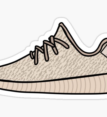 Yeezy Boost 350 Oxford Tan Sticker