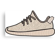 Yeezy Boost 350 Oxford Tan Canvas Print