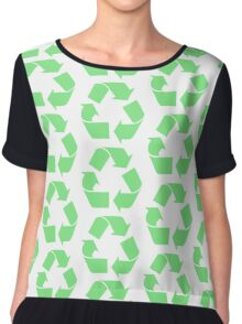 recycle Chiffon Top