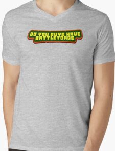 This Isn't An Undertale Shirt So Don't Send me a C+D Again Toby Mens V-Neck T-Shirt