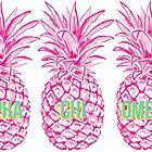 Pineapple Alpha Chi Omega by madisonbaber