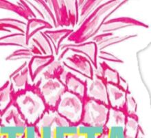 Pineapple Theta Sticker