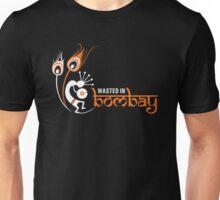 Wasted In Bombay - Orange Logo Promo Unisex T-Shirt