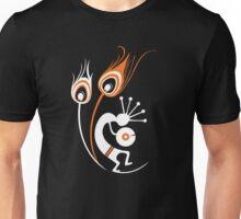 Wasted In Bombay - Orange Logo Orange Wordless Unisex T-Shirt