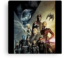 X-Men Apocalypse war Canvas Print
