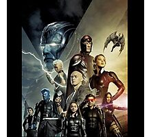 X-Men Apocalypse war Photographic Print