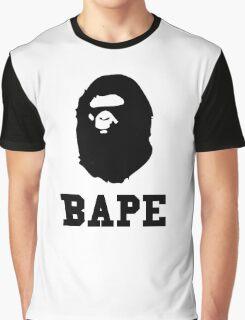 Bape Black Graphic T-Shirt