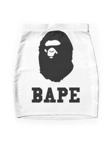 Bape Black Mini Skirt