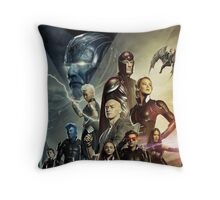 X-Men Apocalypse war Throw Pillow