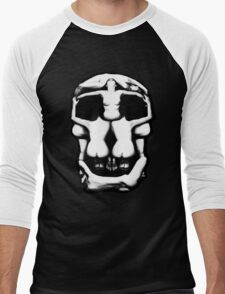 DALI SKULL Men's Baseball ¾ T-Shirt