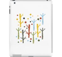 woodland forest iPad Case/Skin