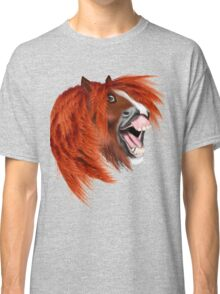THE LAUGHING PONY Classic T-Shirt