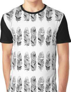 Never too many Feathers Graphic T-Shirt