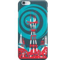 Sutro Tower Screenprint iPhone Case/Skin
