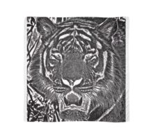 Graphite Tiger Scarf