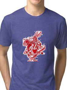 The White Rabbit Tri-blend T-Shirt