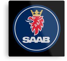 Saab Automobile Metal Print