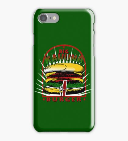 THAT'S ONE TASTY BURGER iPhone Case/Skin