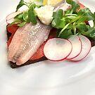 Matjes mit Salat und Pumpernickel by SmoothBreeze7
