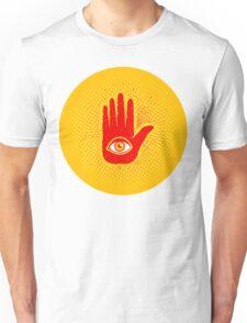 Hand and eye Unisex T-Shirt