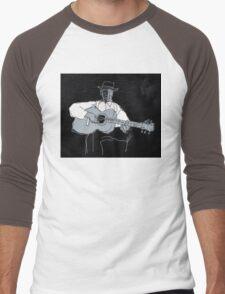 blues #8 Men's Baseball ¾ T-Shirt