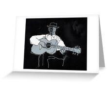 blues #8 Greeting Card
