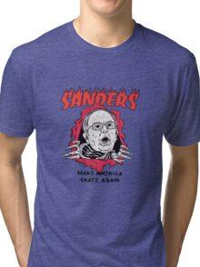 Bernie Sanders - Make America Skate Again Tri-blend T-Shirt