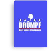 Make Donald Drumpf Again Canvas Print