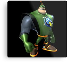 Captain Qwark From Ratchet And Clank Film Metal Print